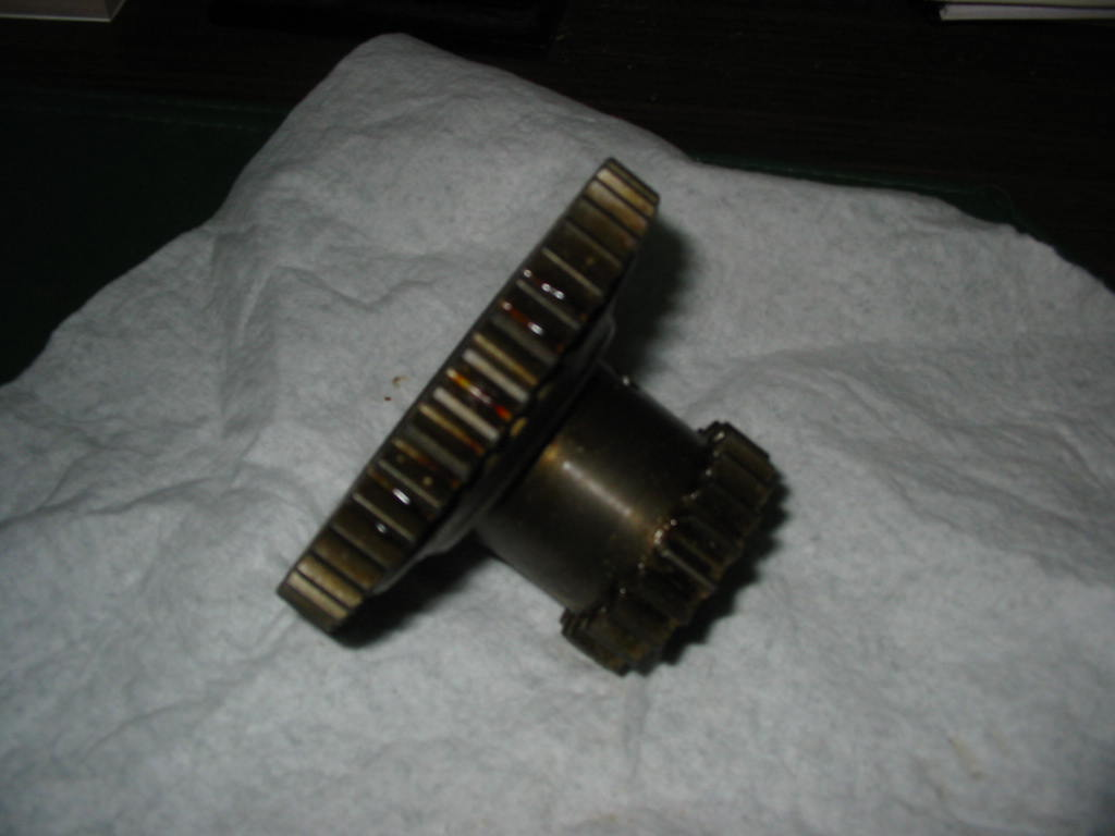 CG-361 Top Shaft & Reverse Idler Gear YM220,250