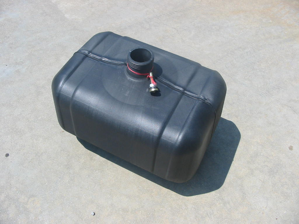 Fuel Tank JD1050 ( Plastic ) ( Will Not Replace Steel Tank )