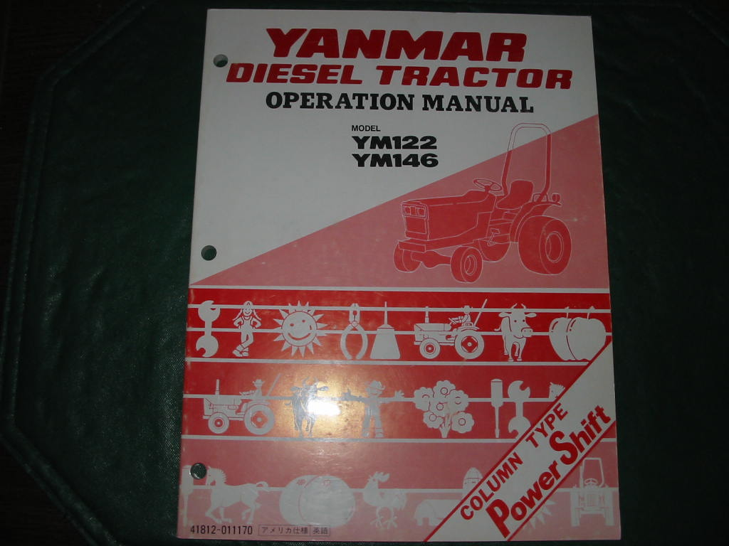 YM122/146 Operation Manual