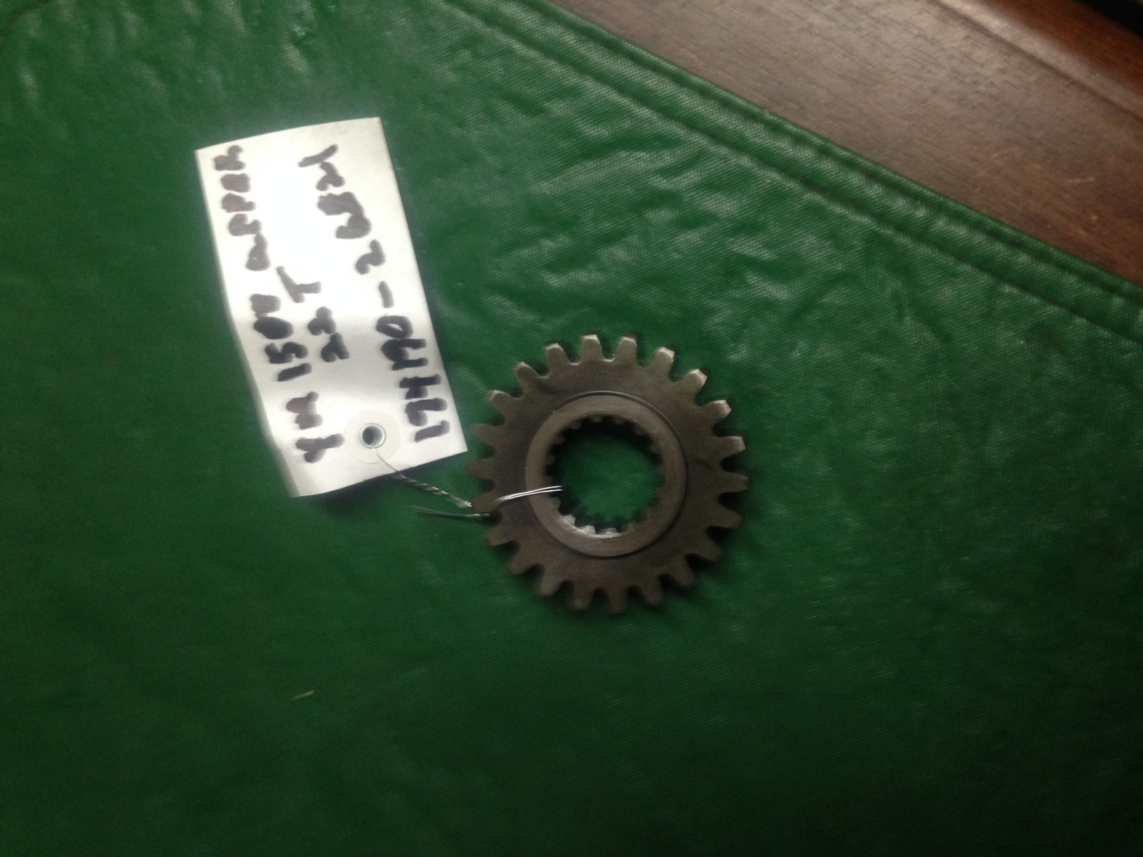 PTO Gear 22 Tooth ( Upper Gear ) YM1500 ( Used )