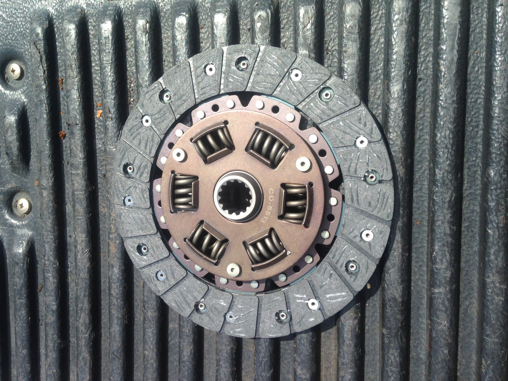 CD-4276 Clutch Disc JD670,770,850,950 ( See Description )