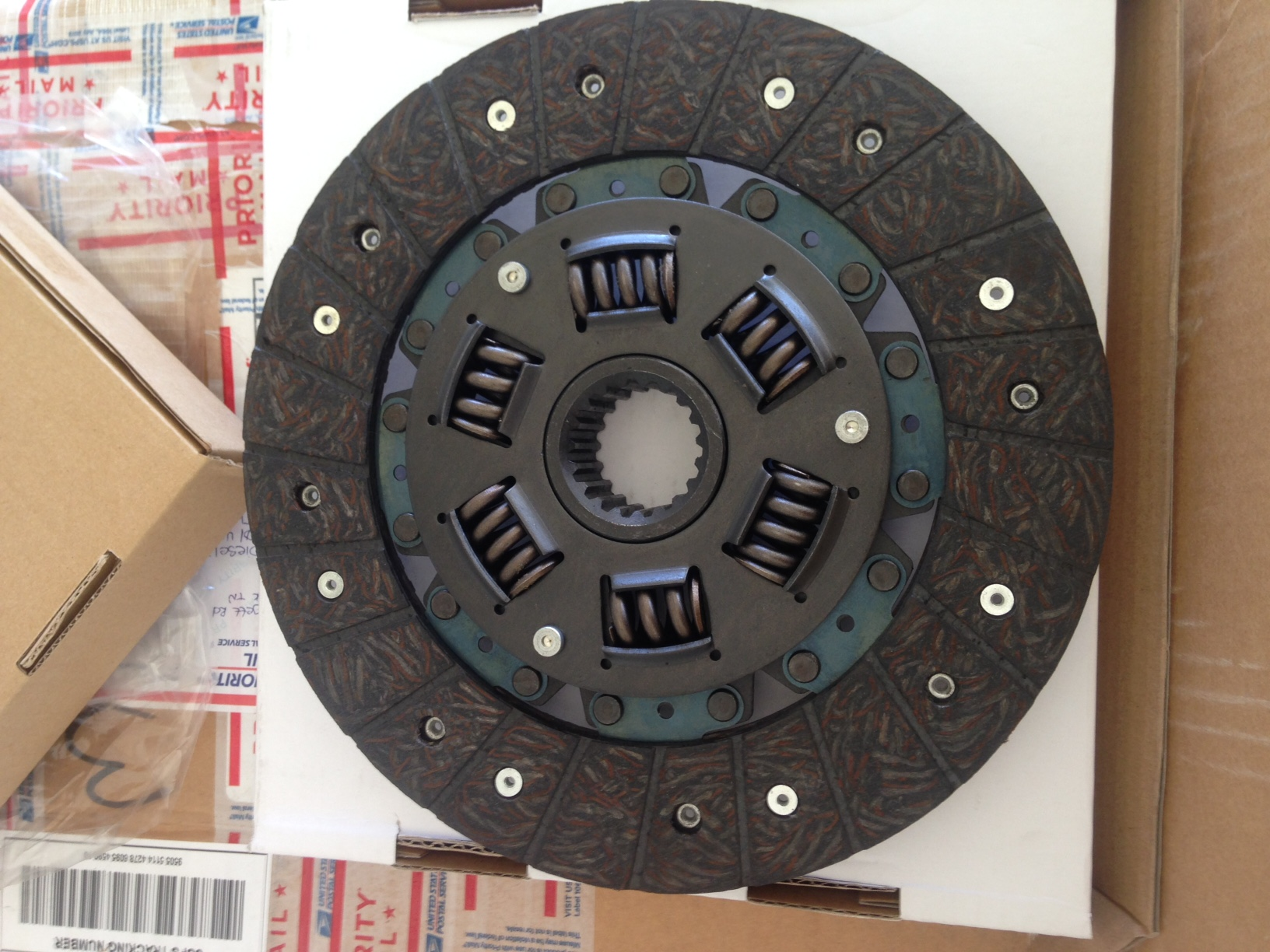 CD-9138 Dual Clutch Disc JD850,950,1050 ( See Description )