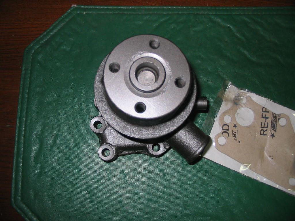 WP-6510 Water Pump W/Gasket For Ford 1710 Tractor