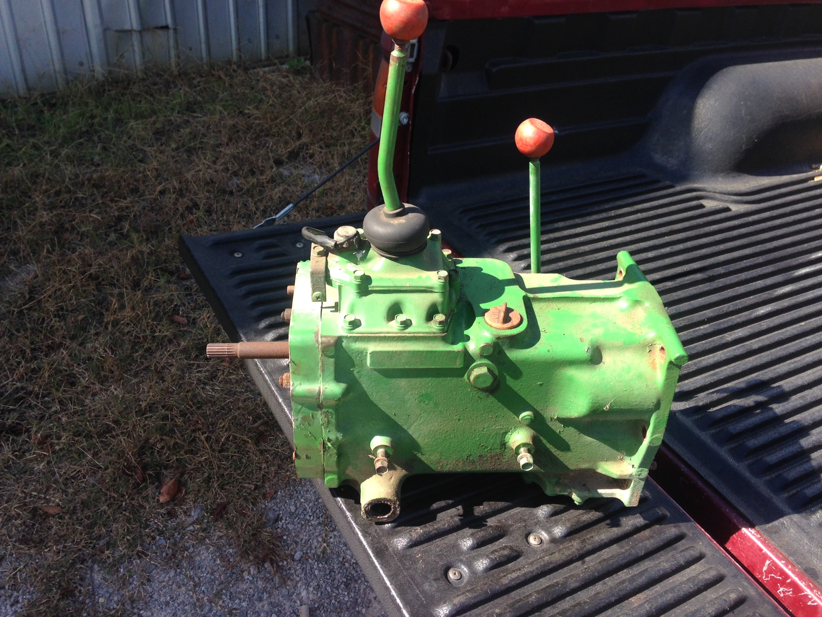 Transmission JD750 ( Used ) ( Exchange ) See Description